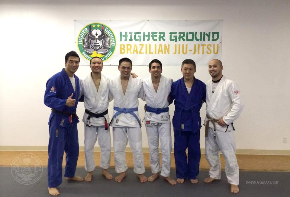 Blue belts at higher ground bjj