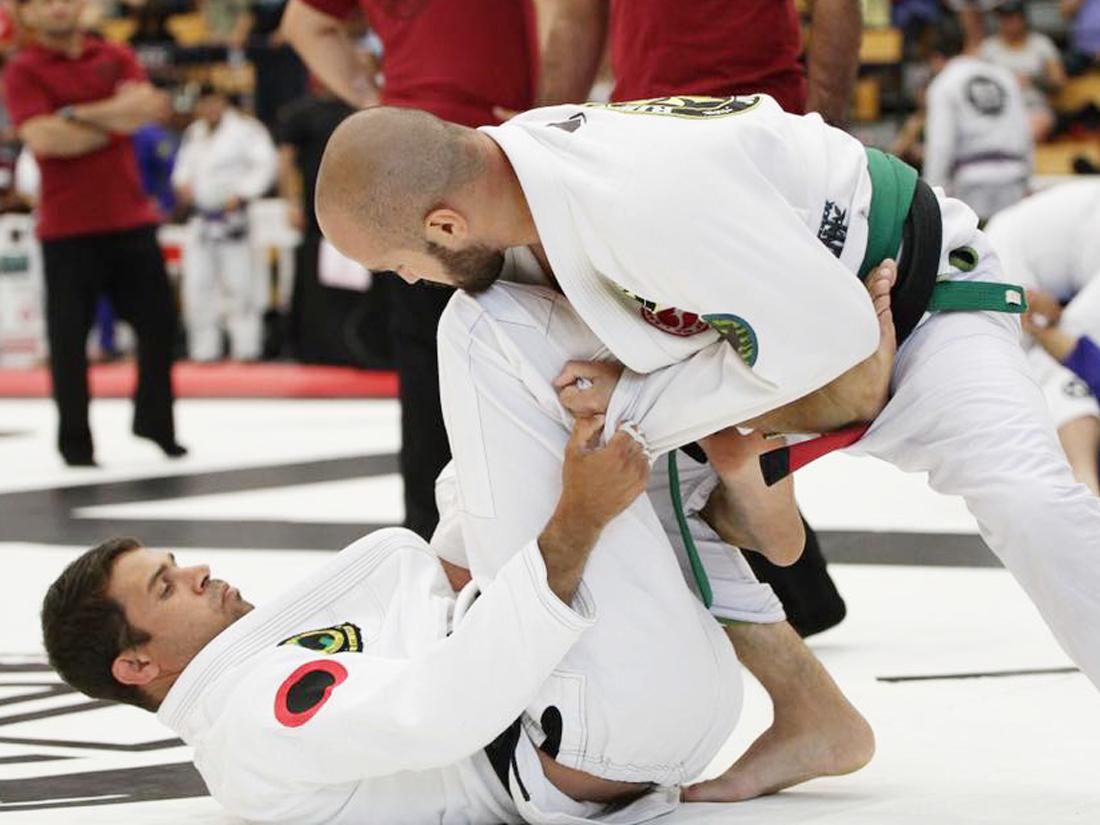 Jiu-Jitsu Black Belt Sean Fernandez Competing
