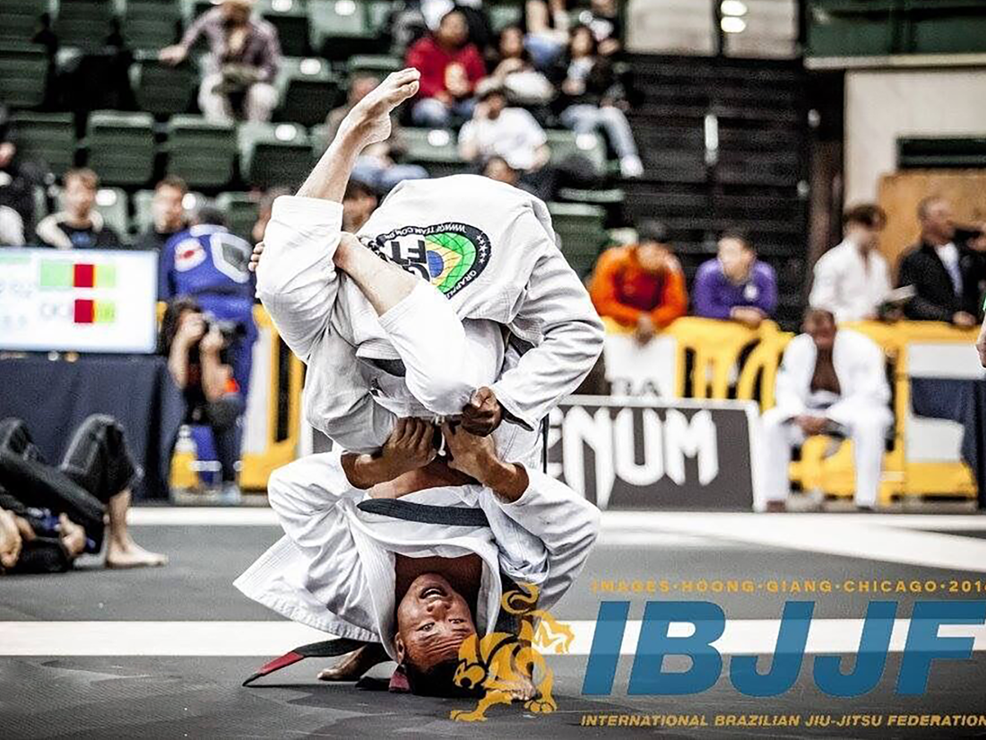 Julio Lang Brazilian Jiu-Jitsu Black Belt Competing